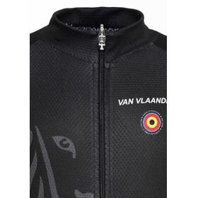 Bioracer Van Vlaanderen Pro Race Kortermede Sykkeltrøyer Barn Svart